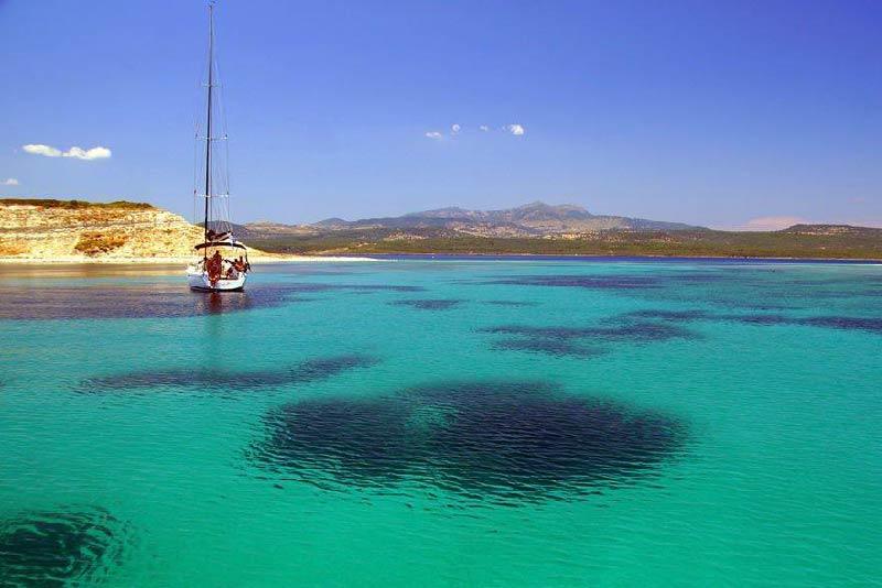 Dive or sail in Aegean's blue